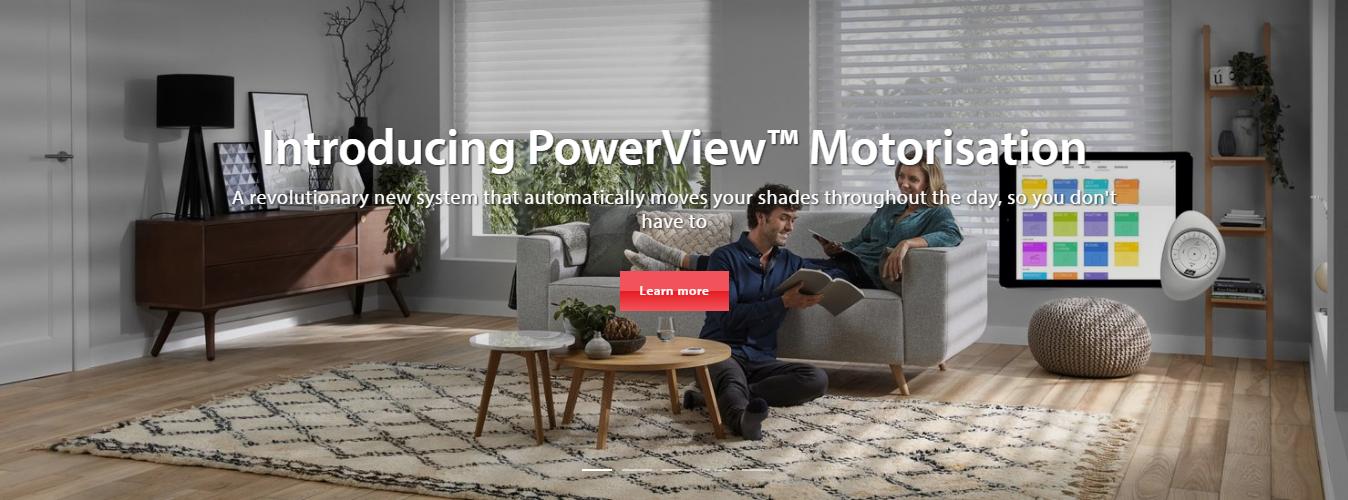 Powerview Motorisation Slider By Luxaflex Ashtead Interiors Surrey